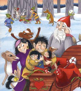 14. Bästa juleklappen